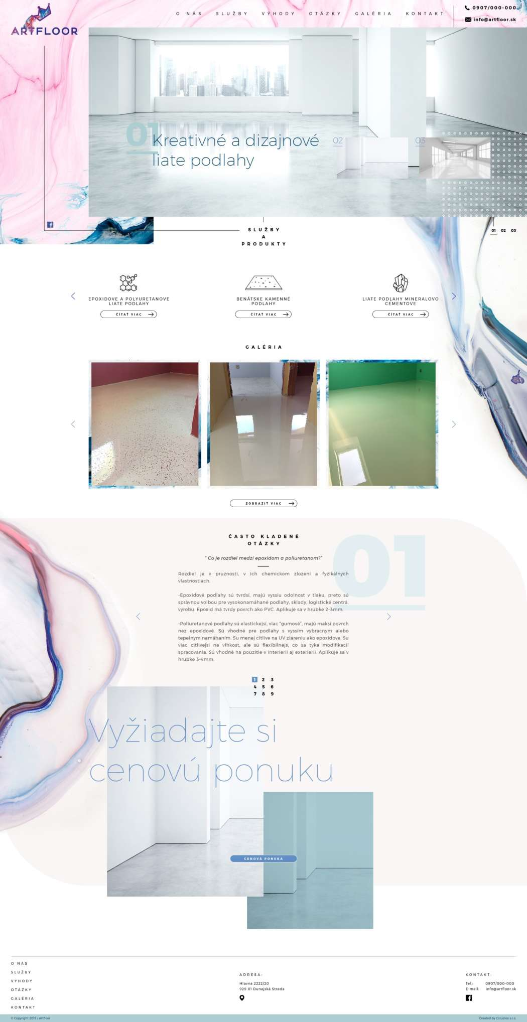 Artfloor - webdesign | Grafikerik