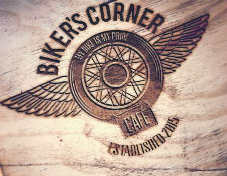 Biker Corner Coffee - logodesign | Grafikerik