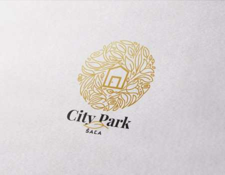 City Park Šaľa - logodesign | Grafikerik