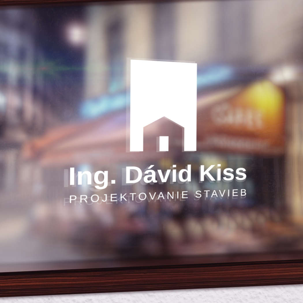 David Kiss Architect - logodesign | Grafikerik