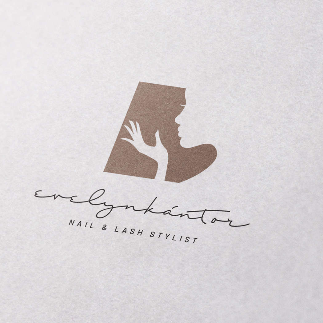 Evelyn Kántor Nail & Lash Stylist - logodesign | Grafikerik
