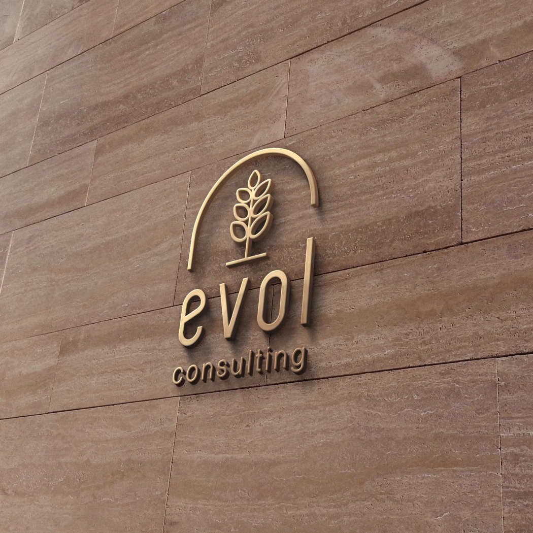 Evol consulting - logodesign | Grafikerik