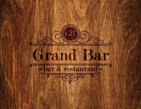 Grand Bar menu list - printdesign | Grafikerik