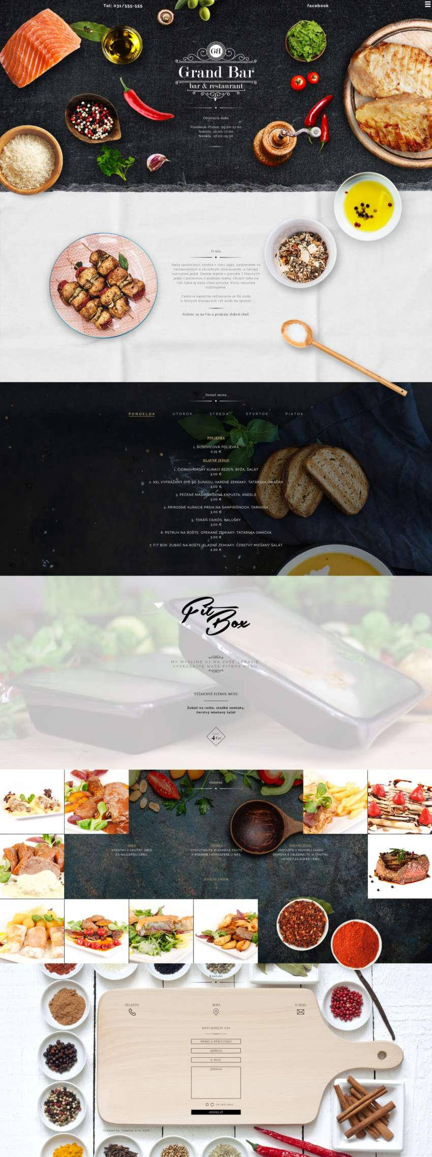 Grandbar - webdesign | Grafikerik