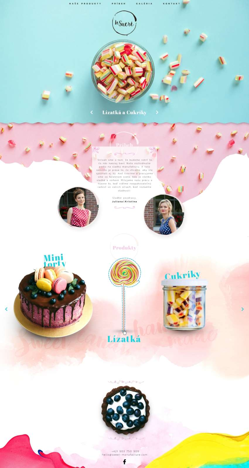 Le Sucre - webdesign | Grafikerik