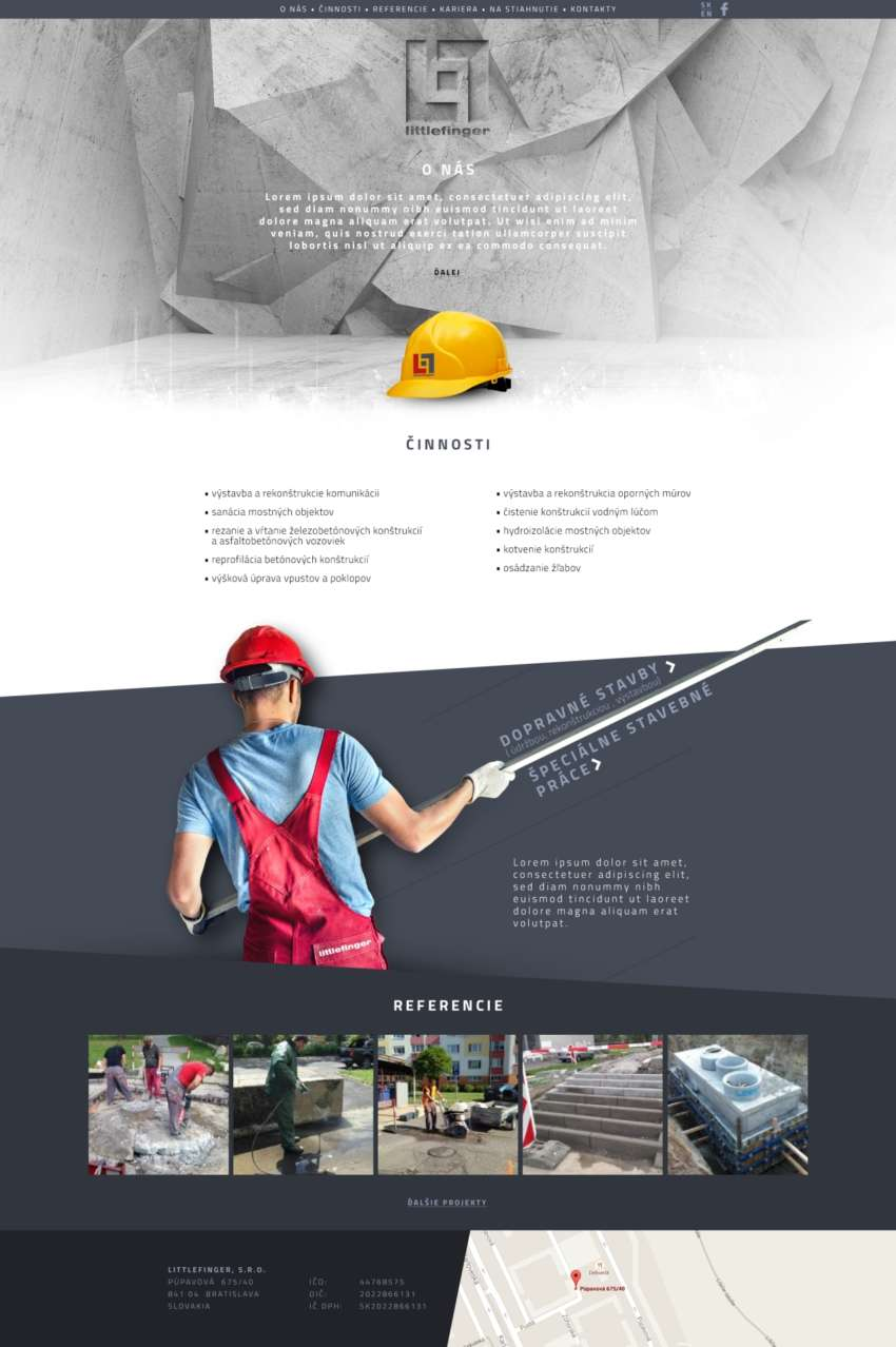 Littlefinger s.r.o. - webdesign | Grafikerik