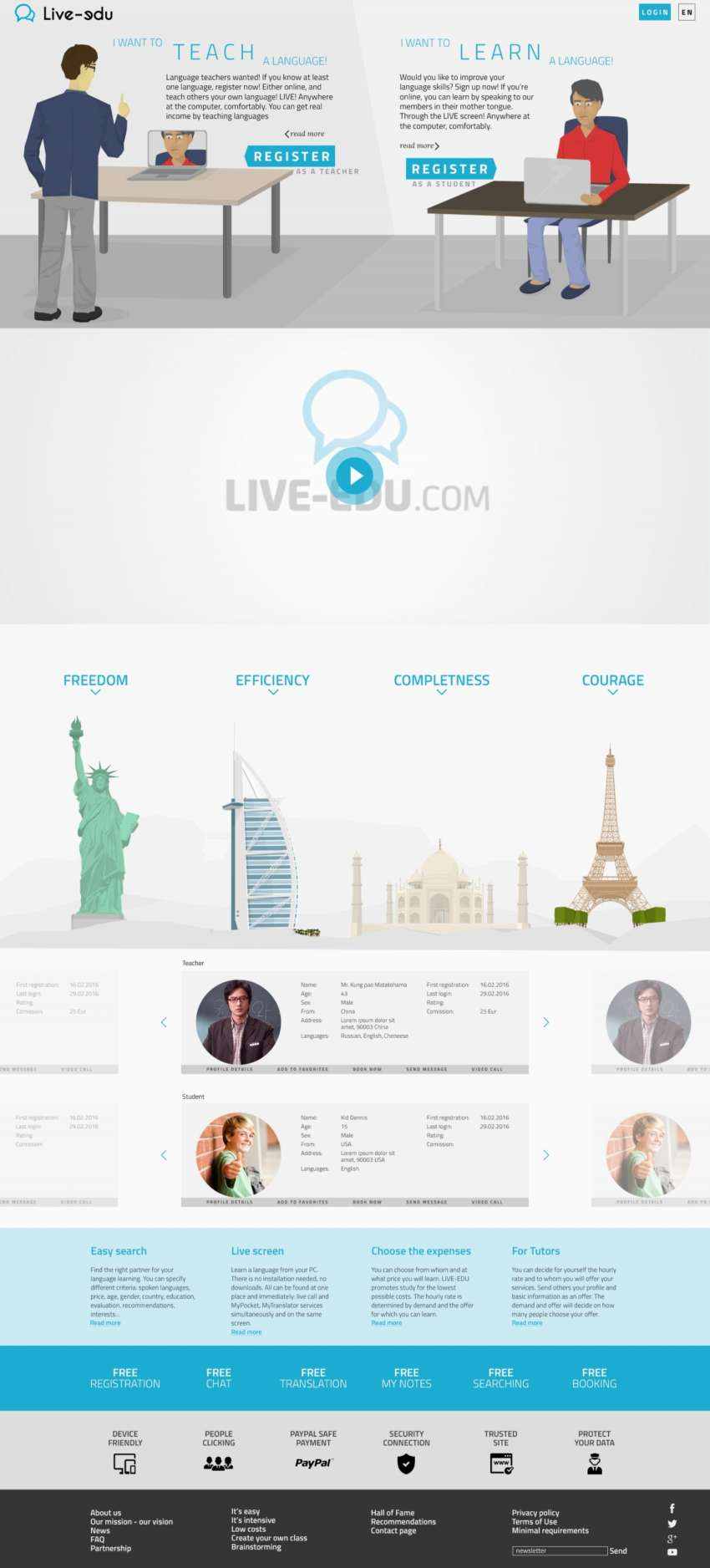 Live-Edu - webdesign | Grafikerik
