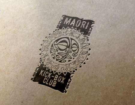 Maori Kick-Box club - logodesign | Grafikerik