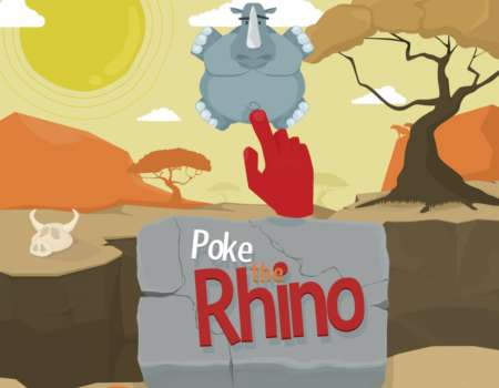 Poke the rhino mobile game design - otherdesign | Grafikerik