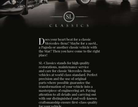 SL classics A5 flyer - printdesign | Grafikerik