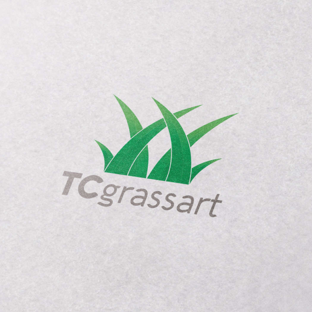 TC grassart - logodesign | Grafikerik