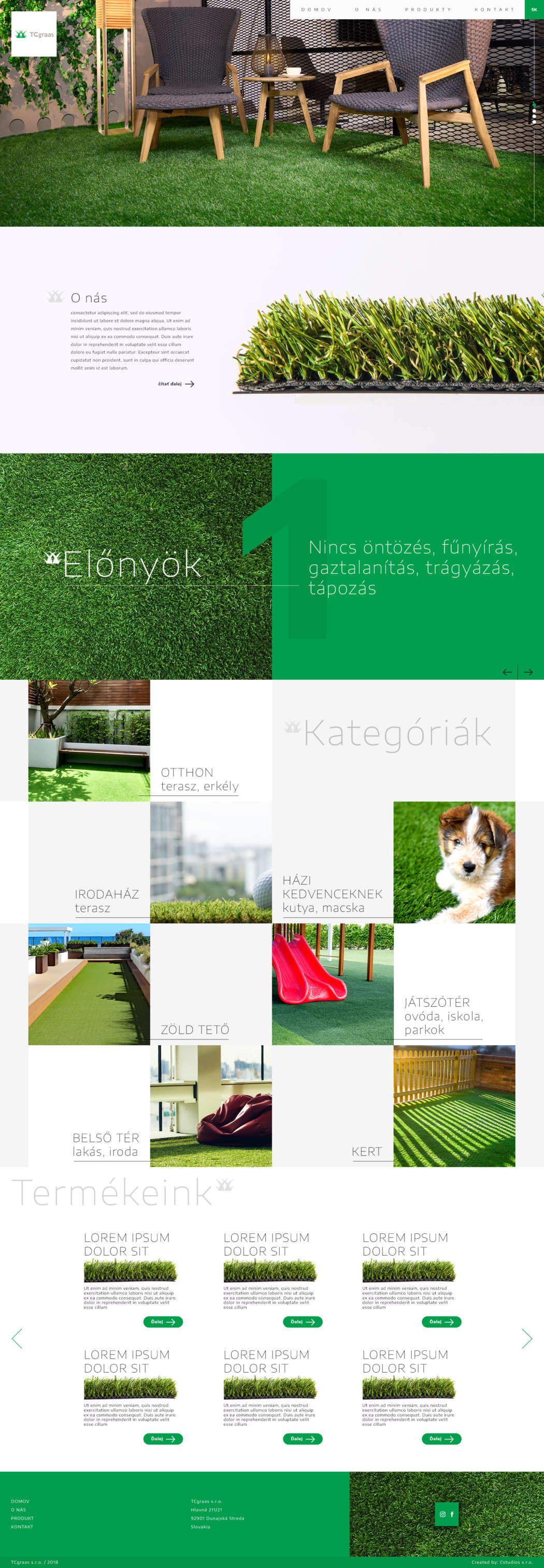 TC grassart - webdesign | Grafikerik