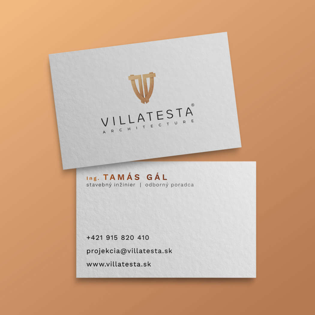 Villatesta business card - printdesign | Grafikerik