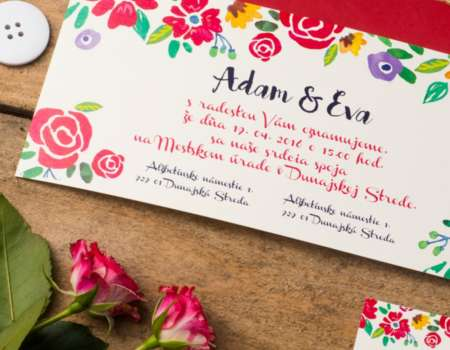 Wedding card - printdesign | Grafikerik