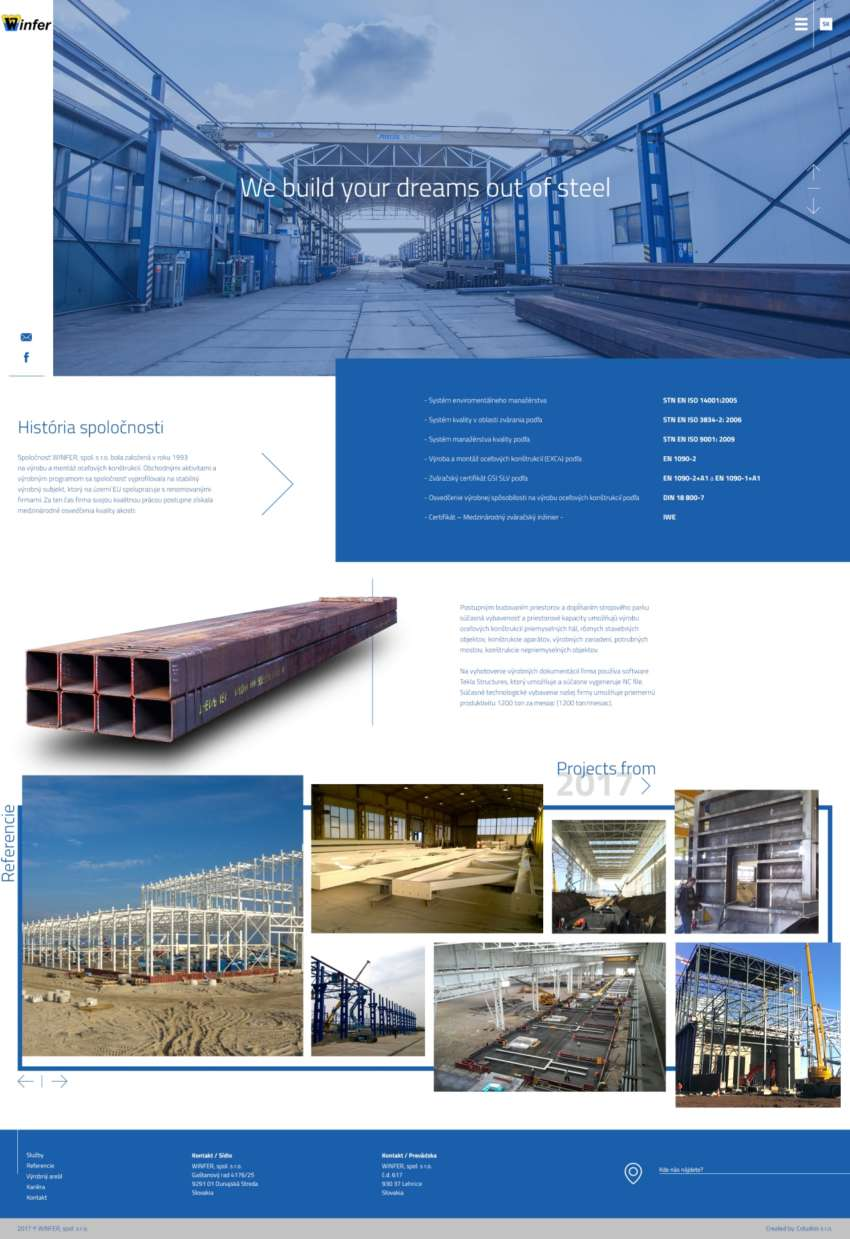 Winfer - webdesign | Grafikerik